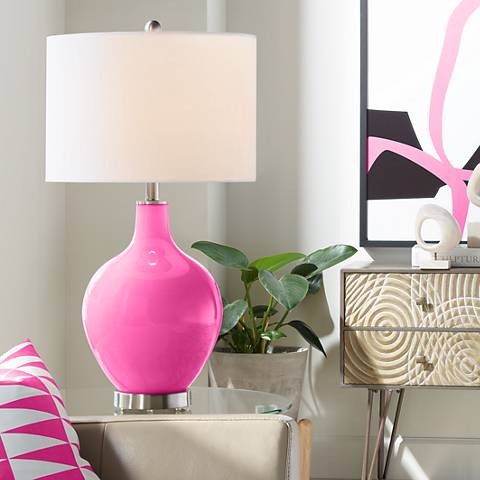 Blossom Pink Ovo Table Lamp