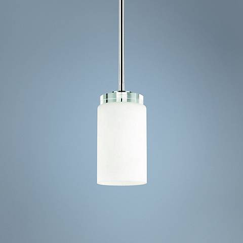 "Kichler Reynes 4"" Wide Chrome Mini Pendant Light"