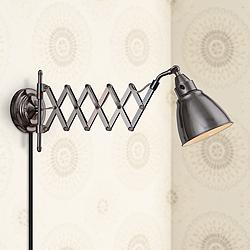 Kenroy Home Floren Copper Bronze Accordion Wall Lamp