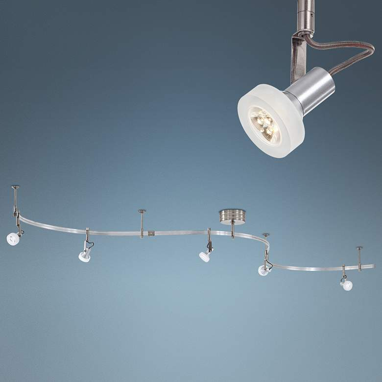 George Kovacs Silver Low Voltage LED Track Light