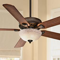 "60"" Casablanca Ainsworth Onyx Bengal Ceiling Fan"