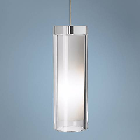 "Tech Lighting Sara Grande 3 3/4"" Wide Nickel Mini Pendant"