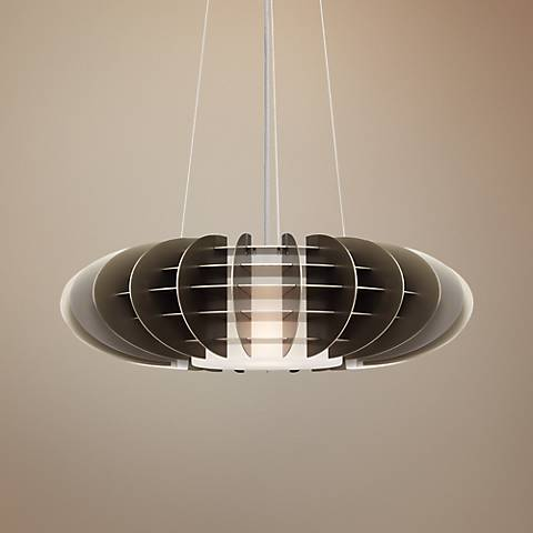 "LBL Chicago Jazz 24"" Wide Suspension Pendant Light"