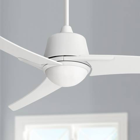 48 Quot Casa Vieja Matrix White Ceiling Fan With Light