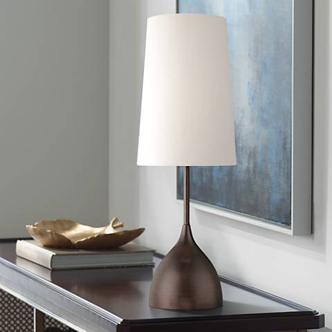 Chalice Modern Bronze Table Lamp