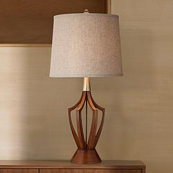 "St. Claire 31"" High Mid-Century Modern Table Lamp"