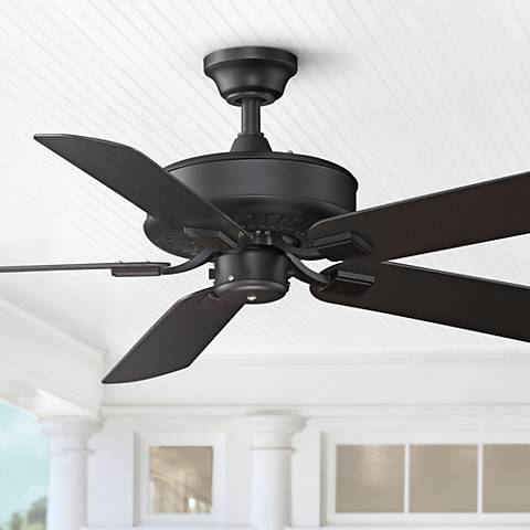 "50"" Fanimation Edgewood Black All-Weather Ceiling Fan"