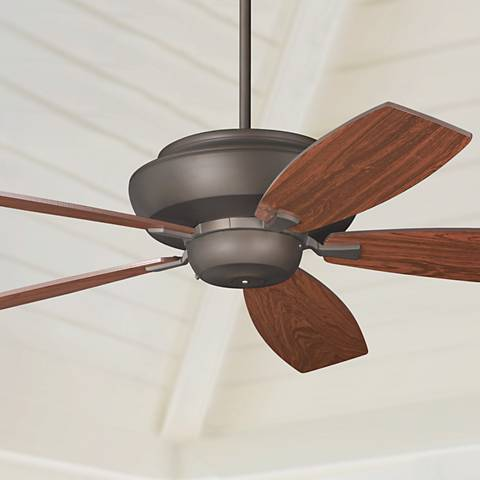 "60"" Casa Belle Grove™ Bronze Teak Blades Ceiling Fan"