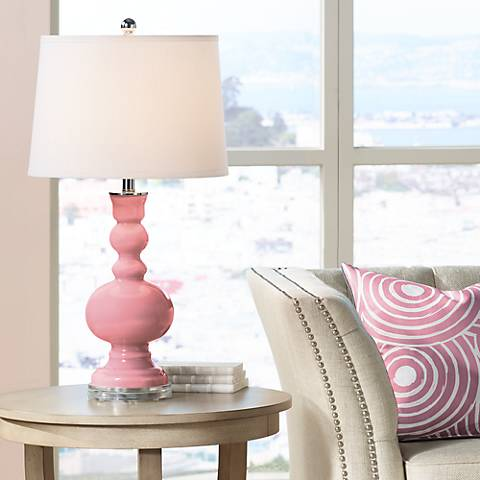 Haute Pink Apothecary Table Lamp