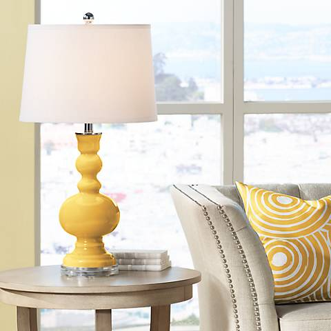 Goldenrod Apothecary Table Lamp