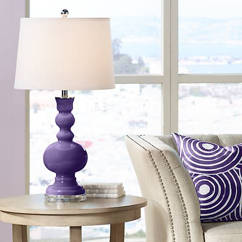 Izmir Purple Apothecary Table Lamp