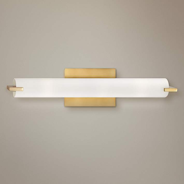 George Kovacs Gold 20 1 2 Wide Bathroom Vanity Light Y4524 Lamps Plus