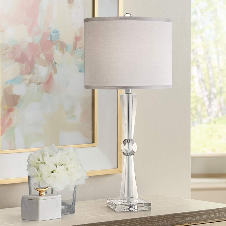 Linley Collection Element Crystal Table Lamp