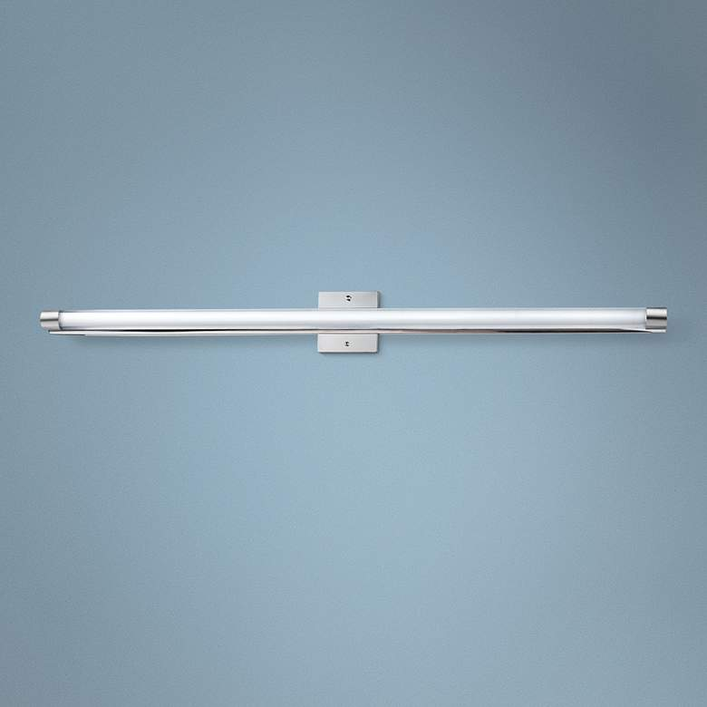 "ET2 Wand 48"" Wide Polished Chrome LED Bathroom Light"