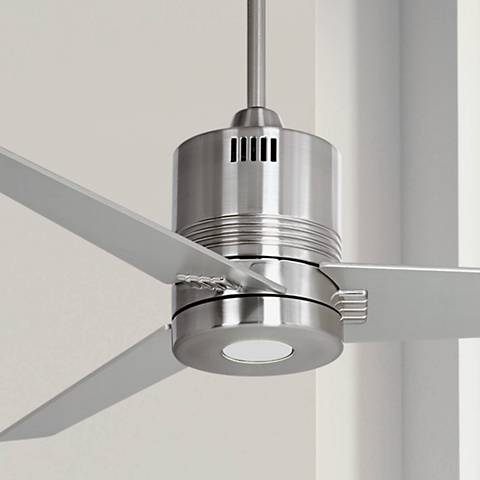 44 casa metro led brushed nickel ceiling fan y7858 lamps plus 44 casa metro led brushed nickel ceiling fan aloadofball Gallery