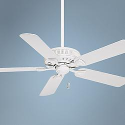 "54"" Casablanca Ainsworth Cottage White Ceiling Fan"