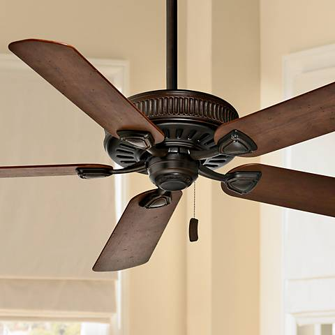 54 Quot Casablanca Ainsworth Brushed Cocoa Ceiling Fan