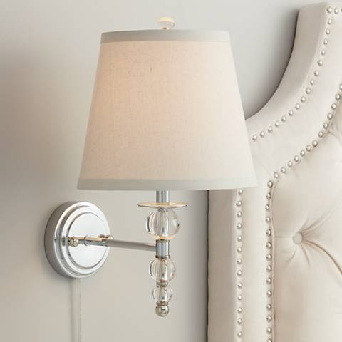 "Wilcox Globe 17"" High Pin-Up Wall Sconce"