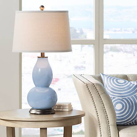 Blue Sky Double Gourd Table Lamp