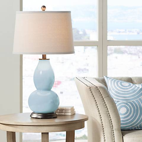 Vast Sky Double Gourd Table Lamp