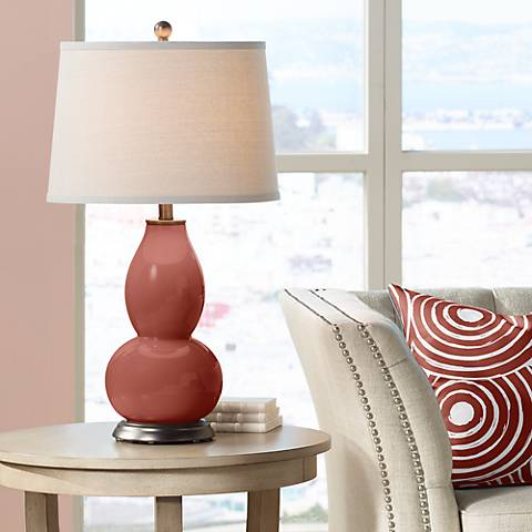 Madeira Double Gourd Table Lamp