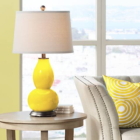 Citrus Double Gourd Table Lamp