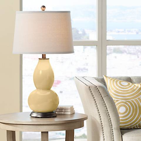 Humble Gold Double Gourd Table Lamp