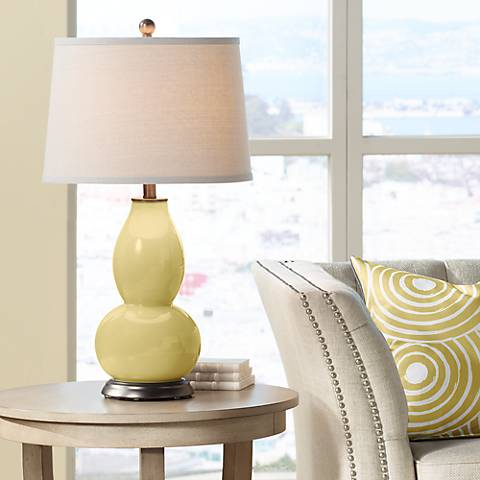 Butter Up Double Gourd Table Lamp