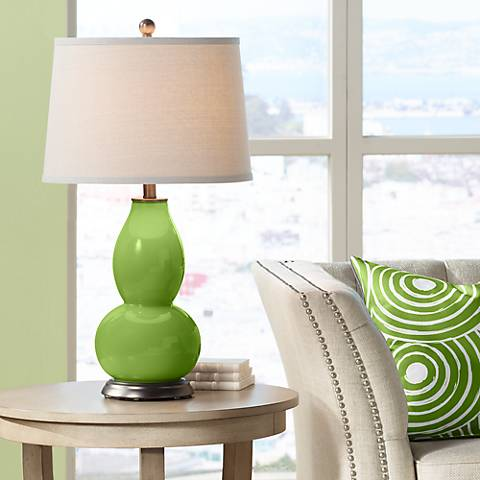 Gecko Double Gourd Table Lamp