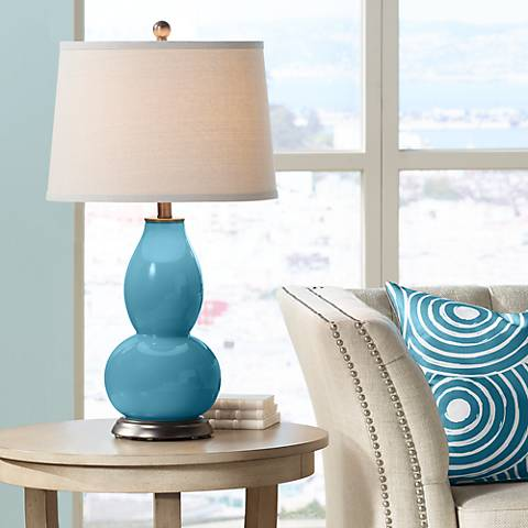 Great Falls Double Gourd Table Lamp
