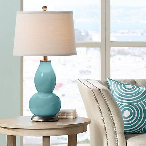 Reflecting Pool Double Gourd Table Lamp