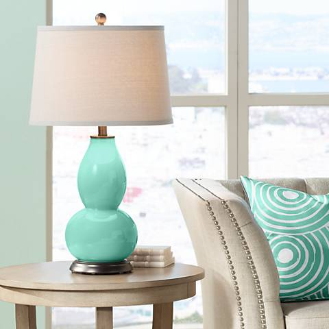 Larchmere Double Gourd Table Lamp