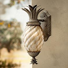 Tropical outdoor lighting lamps plus hinkley plantation 14 aloadofball Gallery
