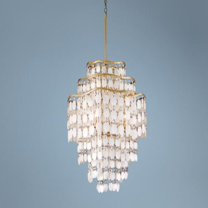 Dolce Capiz Shell Lighting Collection