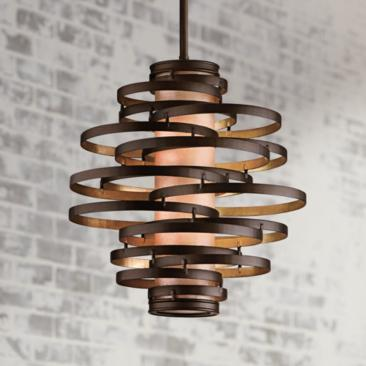 "Corbett Vertigo 18"" Wide Small Pendant Light"