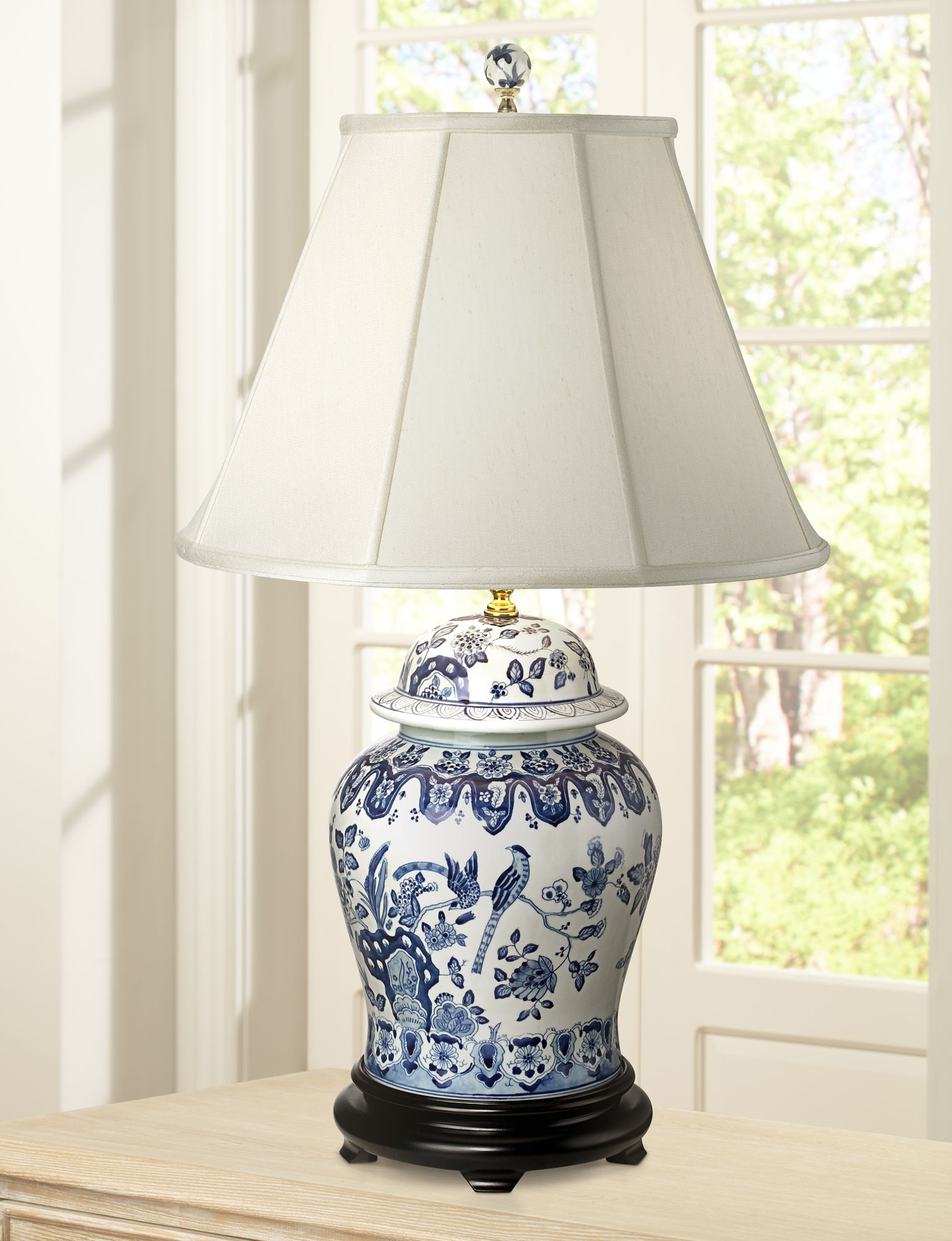 Hand Painted Ceramic Porcelain Table Lamps Lamps Plus