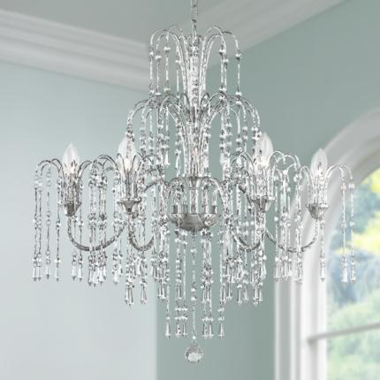 Crystal Rain Crystal Chandelier Lighting Collection
