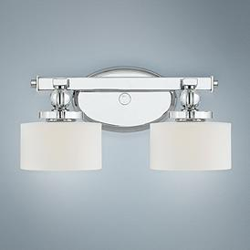 "Downtown LED Collection 15"" Wide Bathroom Wall Light"
