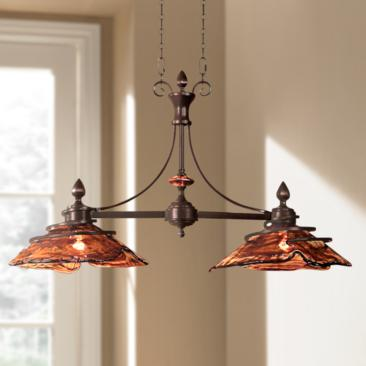 "Uttermost Vitalia Collection 42"" Wide Island Chandelier"