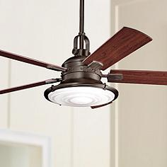52 Kichler Kittery Point Olde Bronze Ceiling Fan