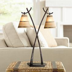 Wright 2 Light Table Lamp