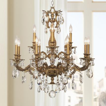 Schonbek Milano Swarovski Crystal Lighting Collection