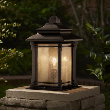 Franklin Iron Works Hickory Point Outdoor Lighting Collection