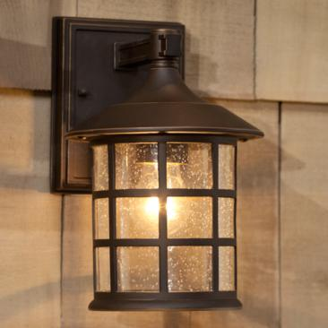 "Hinkley Freeport 9 1/4"" High Bronze Outdoor Wall Light"
