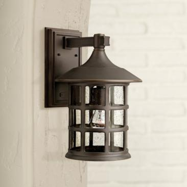 "Hinkley Freeport 15 1/4"" High Bronze Outdoor Wall Light"
