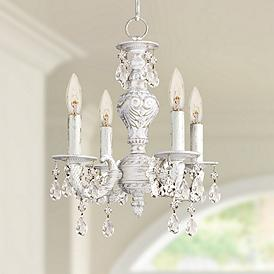 Fabulous Country Cottage Mini Chandelier Chandeliers Lamps Plus Download Free Architecture Designs Scobabritishbridgeorg