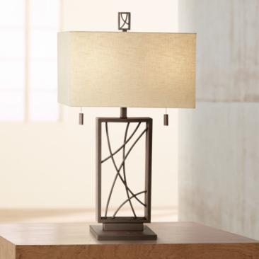 Crossroads Open Base Table Lamp