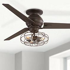 ceiling design fan interesting fans light kits home ceilings rustic flush wooden country farmhouse