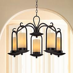 Candle outdoor chandeliers lamps plus onyx faux stone candle 30 aloadofball Images