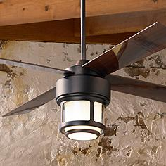 Rustic ceiling fans lodge inspired fan designs lamps plus 52 casa vieja tercel oil brushed bronze outdoor ceiling fan mozeypictures Image collections